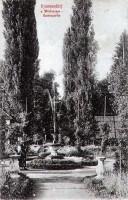 Schlossgarten Krumpendorf 1909