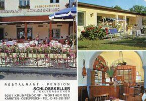 Restaurant Pension Schlosskeller 1970er