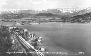 Blick vom Aussichtsturm Schrottenburg 1956