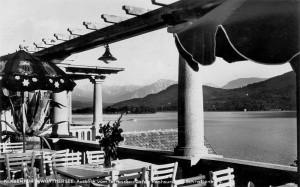 Schrottenburg Ausblick von Terrasse nach südost 1927