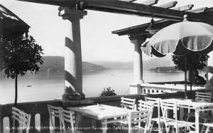Schrottenburg Ausblick von Terrasse nach südwest 1928