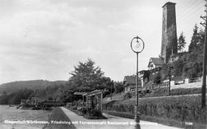 Schrottenburg vom Friedelsteg 1939