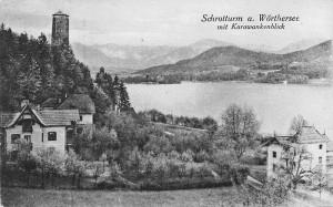 Schrotturm am Wörthersee 1922
