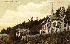 Villen Schubert und Schöller 1907