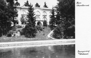 Pension Schwalbennest 1940