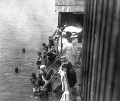 Badeanstalt Krumpendorf Damenbad 1893