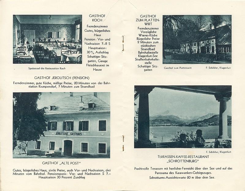 Seebad Krumpendorf am Wörthersee 1929