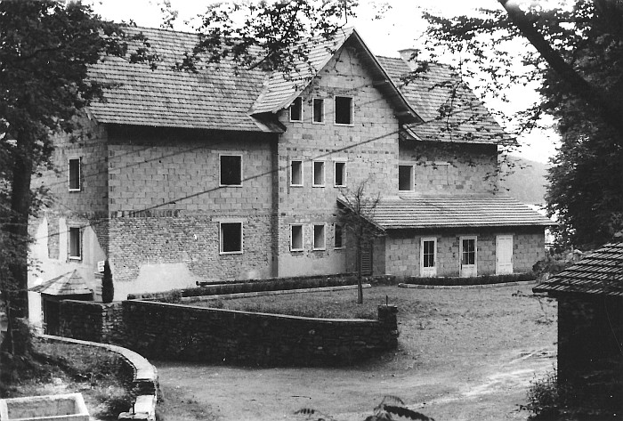 Seehotel Koch Rohbau Rückseite 1954