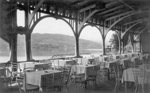 Seerestauration Ausblick 1. Terrasse 1926