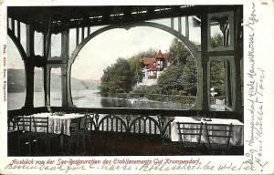 Seerestauration mit Ausblick 1908