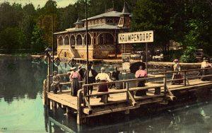 Seerestauration mit Anlegebrücke 1909