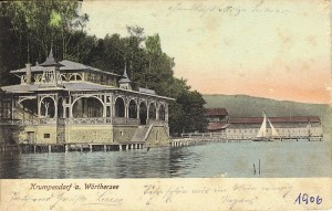 Seerestauration mit Badanstalt 1906