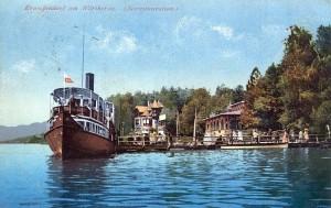 Seerestauration mit Schiff 1912