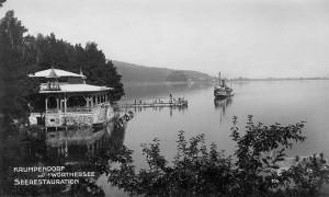 Seerestauration mit Schiff 1927