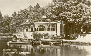 Seerestauration des Terrassenhotels 1929