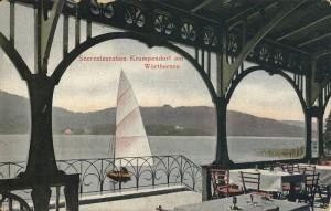 Seerestauration Terrasse 1908