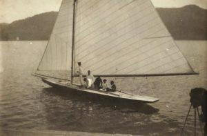 Segelboot 1918