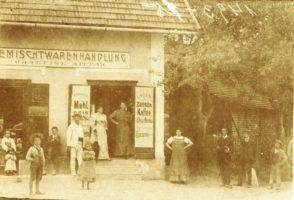 Gemischtwaren Josefine Sittar ca.1907/8