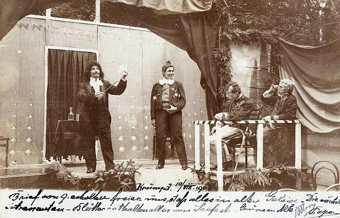 Sommerfest 1903 Theateraufführung