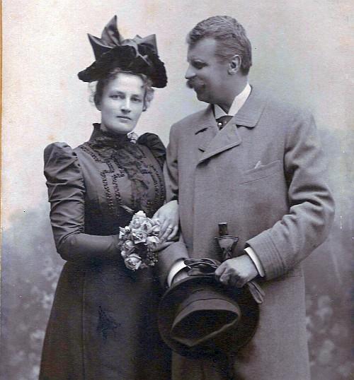 Walter und Ida von Sterneck 1899
