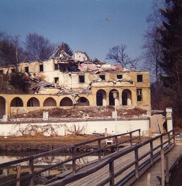 Terrassenhotel Abriss 1973/74