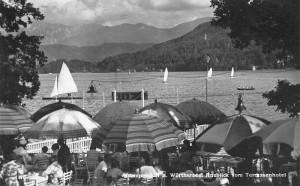 Terrassenhotel Gastgarten 1940