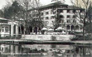 Terrassenhotel Sitzgarten 1936