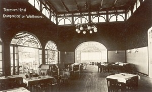 Terrassenhotel Speisesaal 1928
