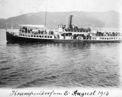 Wörtherseeschiff Thalia 1913