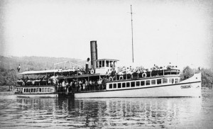 Wörtherseeschiff Thalia 1920er Jahre