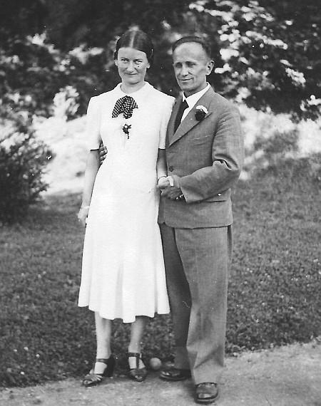 Verlobung Heinrich Sturm mit Adele Egger im August 1940