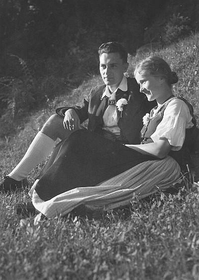 Verlobung von Susanne Egger und Erich Hamböck