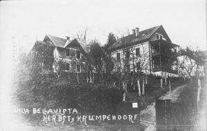 Villa Bellavista Herbst 1920er Jahre