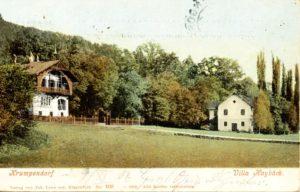 Villa Haybäck in Krumpendorf 1905