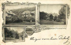 Villa Heinrichshof in Gurlitsch 1898