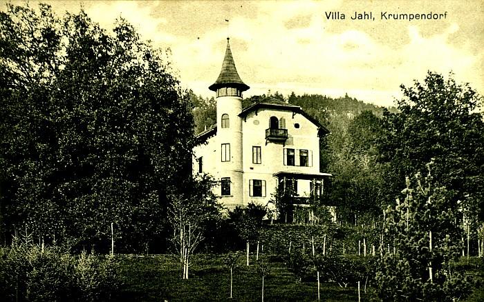 Villa Jahl um 1900