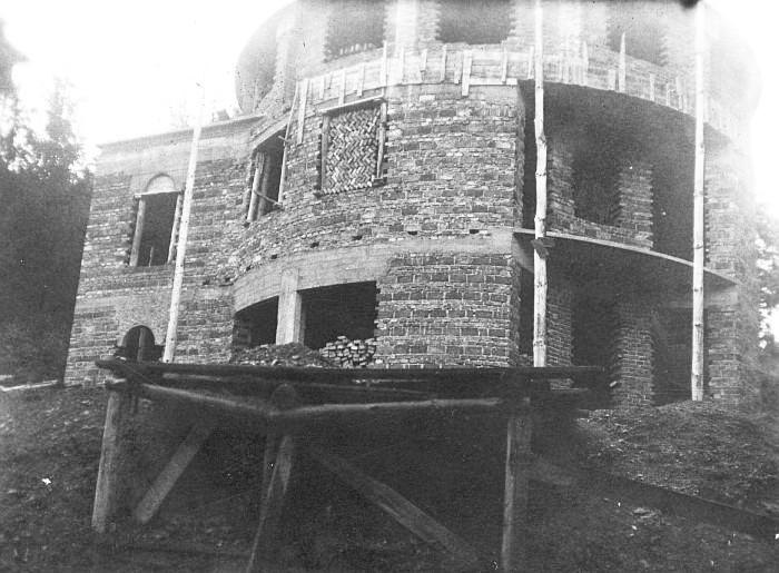 Villa Kerndle Rohbau 1934