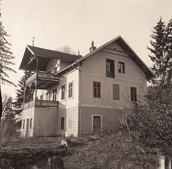 Villa Kranzmayer am Römerweg Ostseite 1936