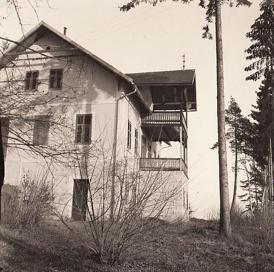 Villa Kranzmayer am Römerweg Westseite 1936