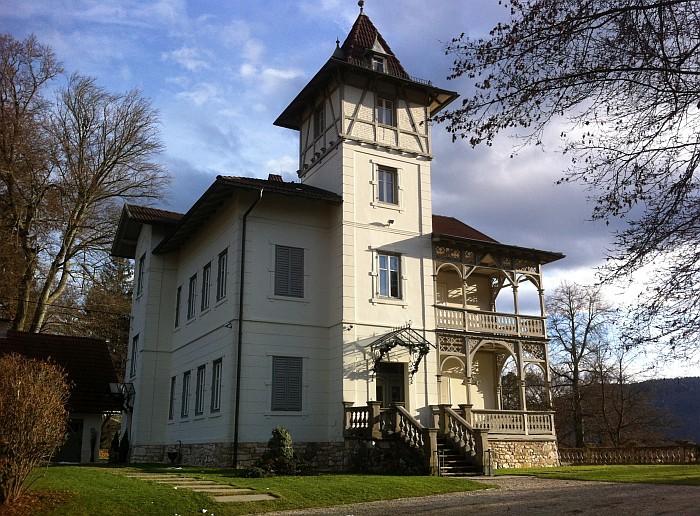 Villa Laura Westseite