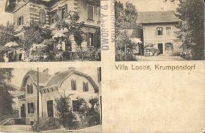Villa Losos, Hauptstraße 133, ca. 1917