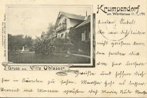 Villa Oblasser 1904
