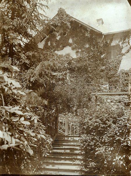 Villa Schindler Südansicht 1890er