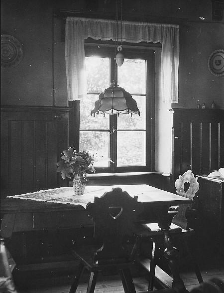 Wohnzimmer in der Villa Seeheim ca. 1940