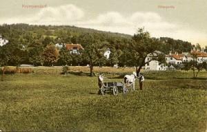 Villenpartie Krumpendorf 1908