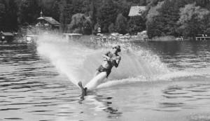 Wasserski Hans Hopfgartner 1960