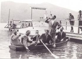 Wassertest des Gemeinderates Krumpendorf 1964