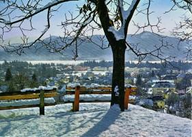 Winteransicht vom Höhenweg