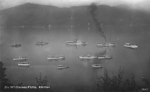 Die Wörthersee-Flotte 1929