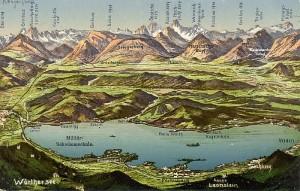Wörthersee Panorama 1912
